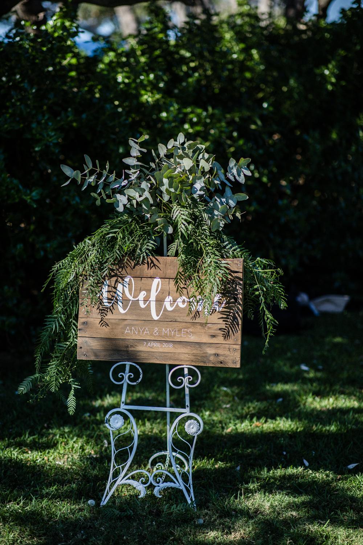 WEDDING SIGN BY SYDNEY WEDDING PLANNER