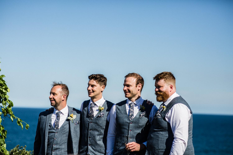 GROOMS AT BONDI BEACH WEDDING