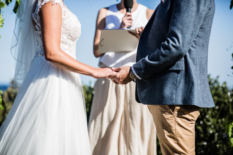 BRIDE AND GROOM AT WEDDING BY SYDNEY WEDDING PLANNER