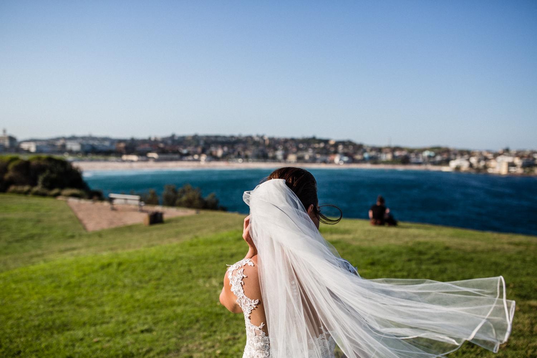 BRIDE IN BONDI BEACH
