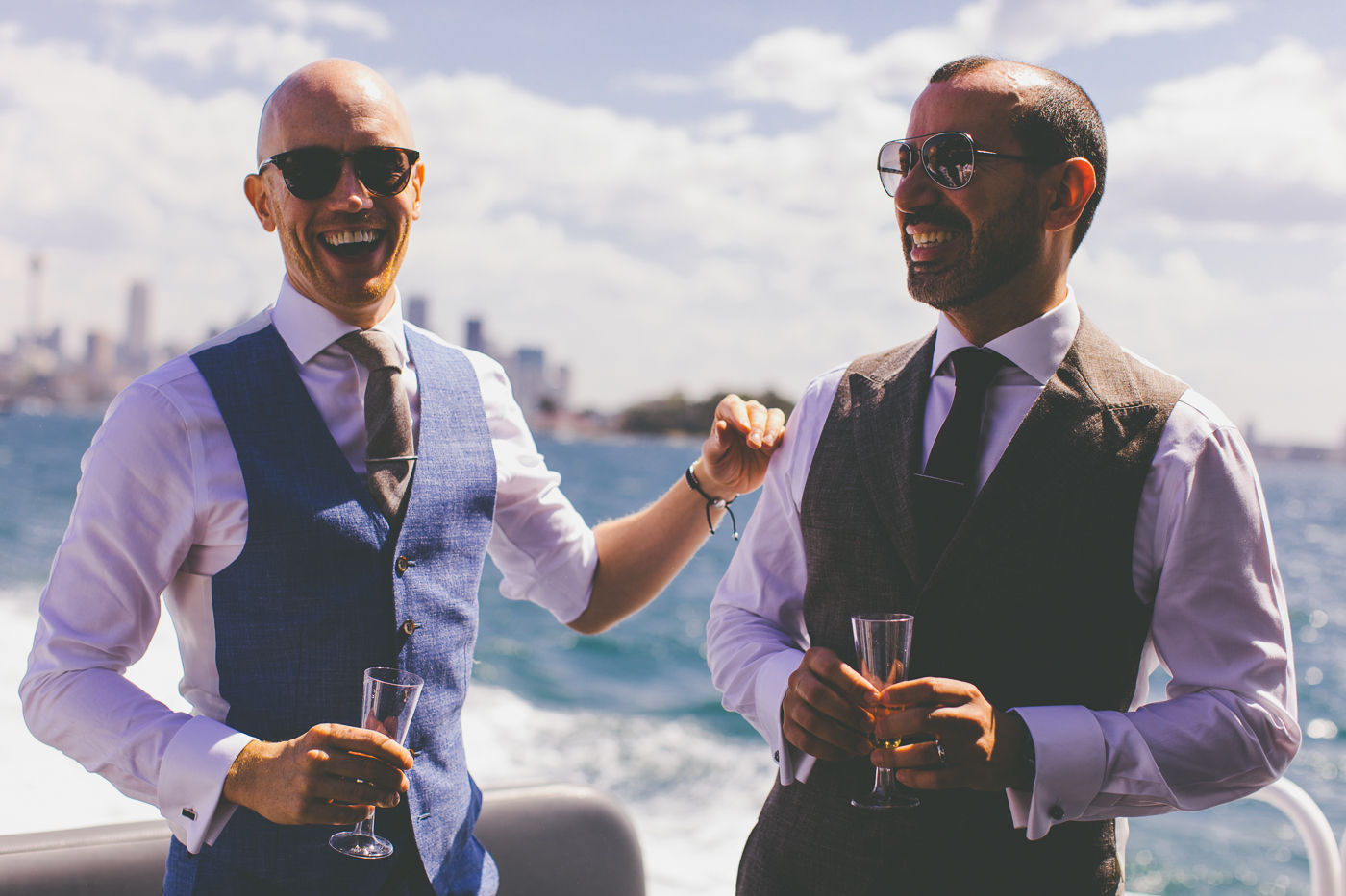Sydney Harbour Water Taxi Wedding