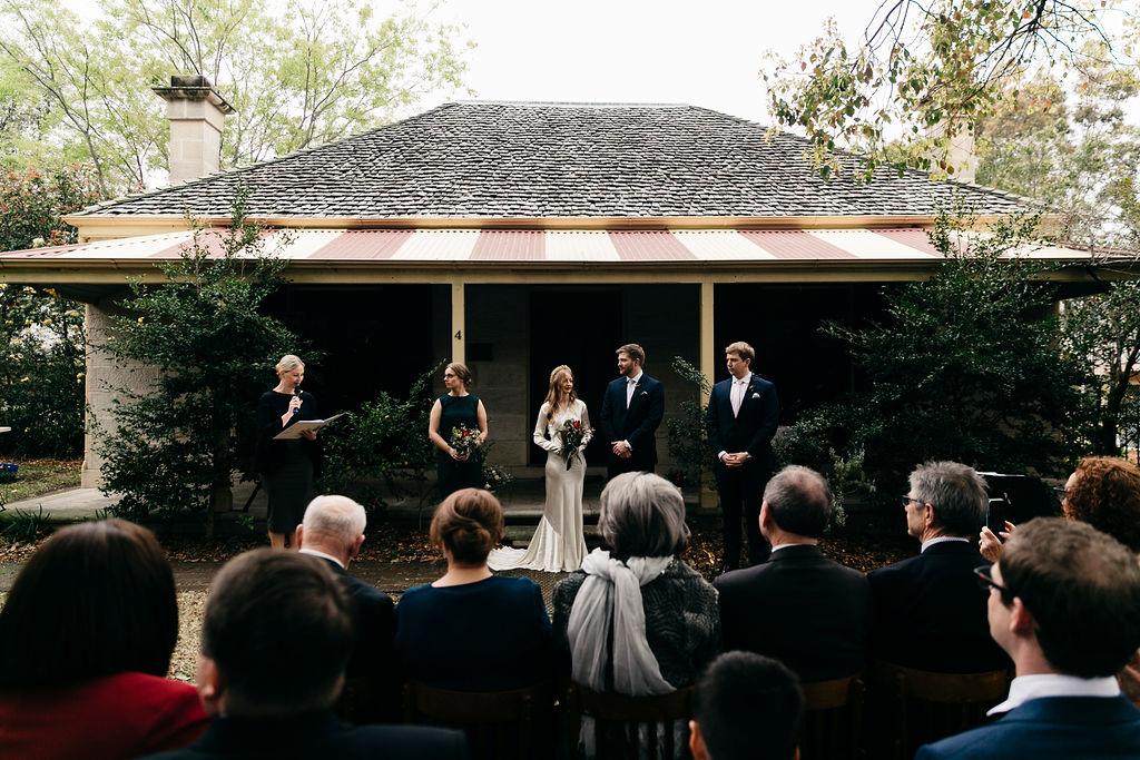Wedding at Clontarf Cottage Balmain, Sydney. Wedding planner, Wedding Coordinator Samantha Burke Events.