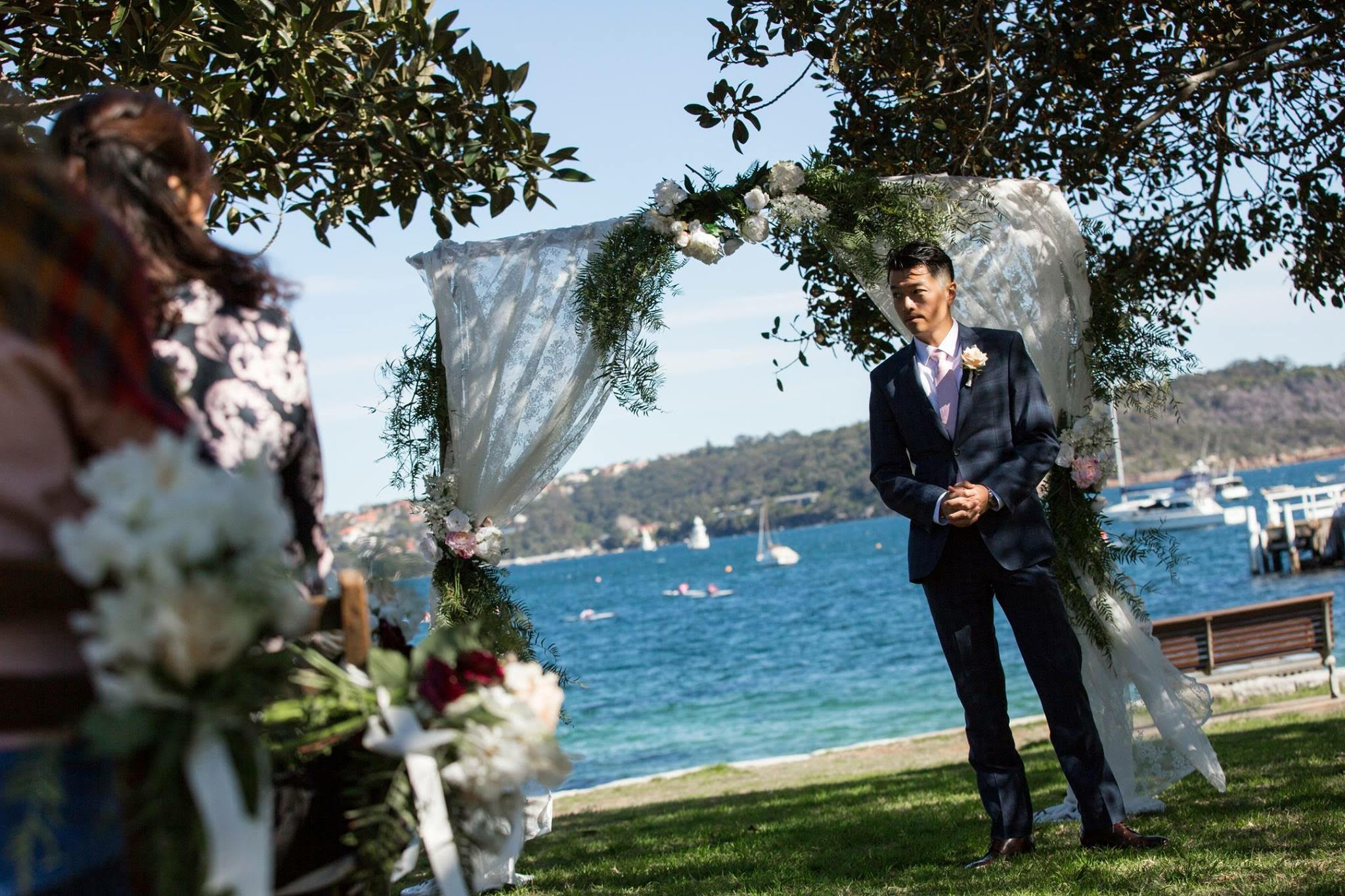 Wedding Ceremony at the Fig Tree Watsons Bay