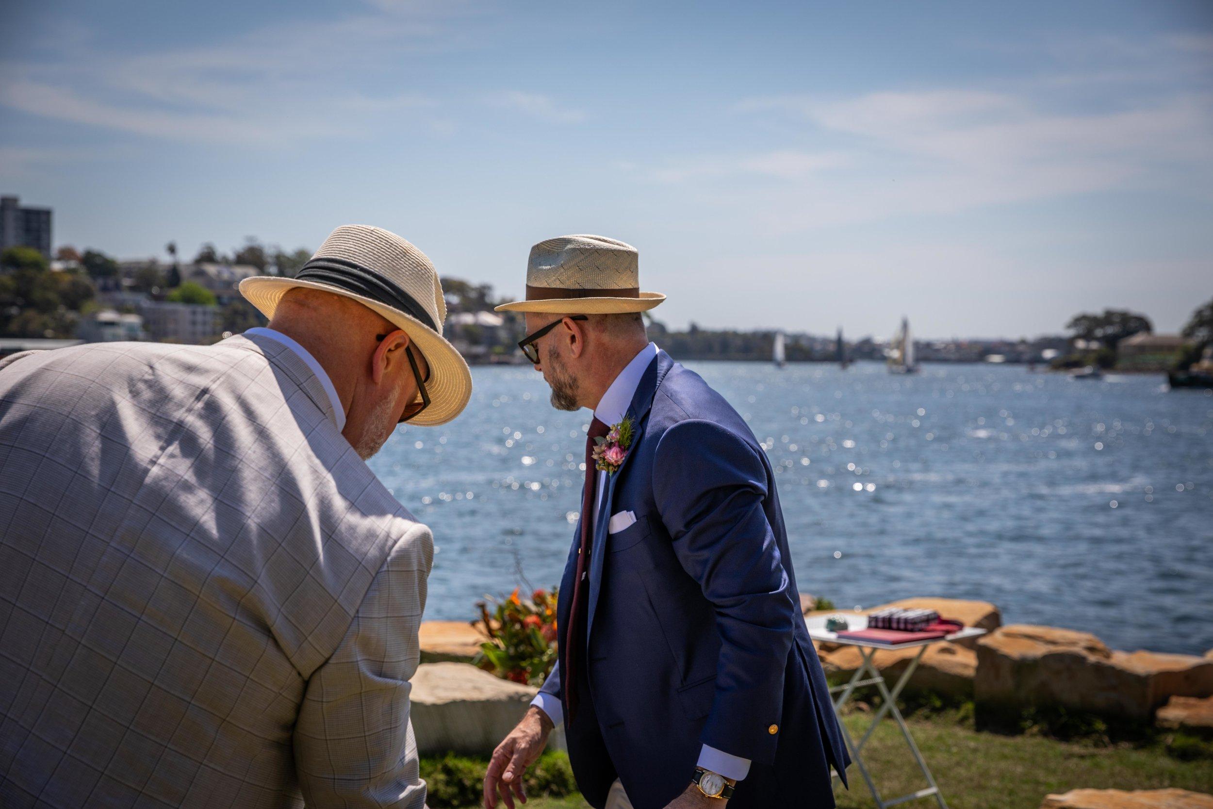 Wedding Barangaroo Sydney Harbour