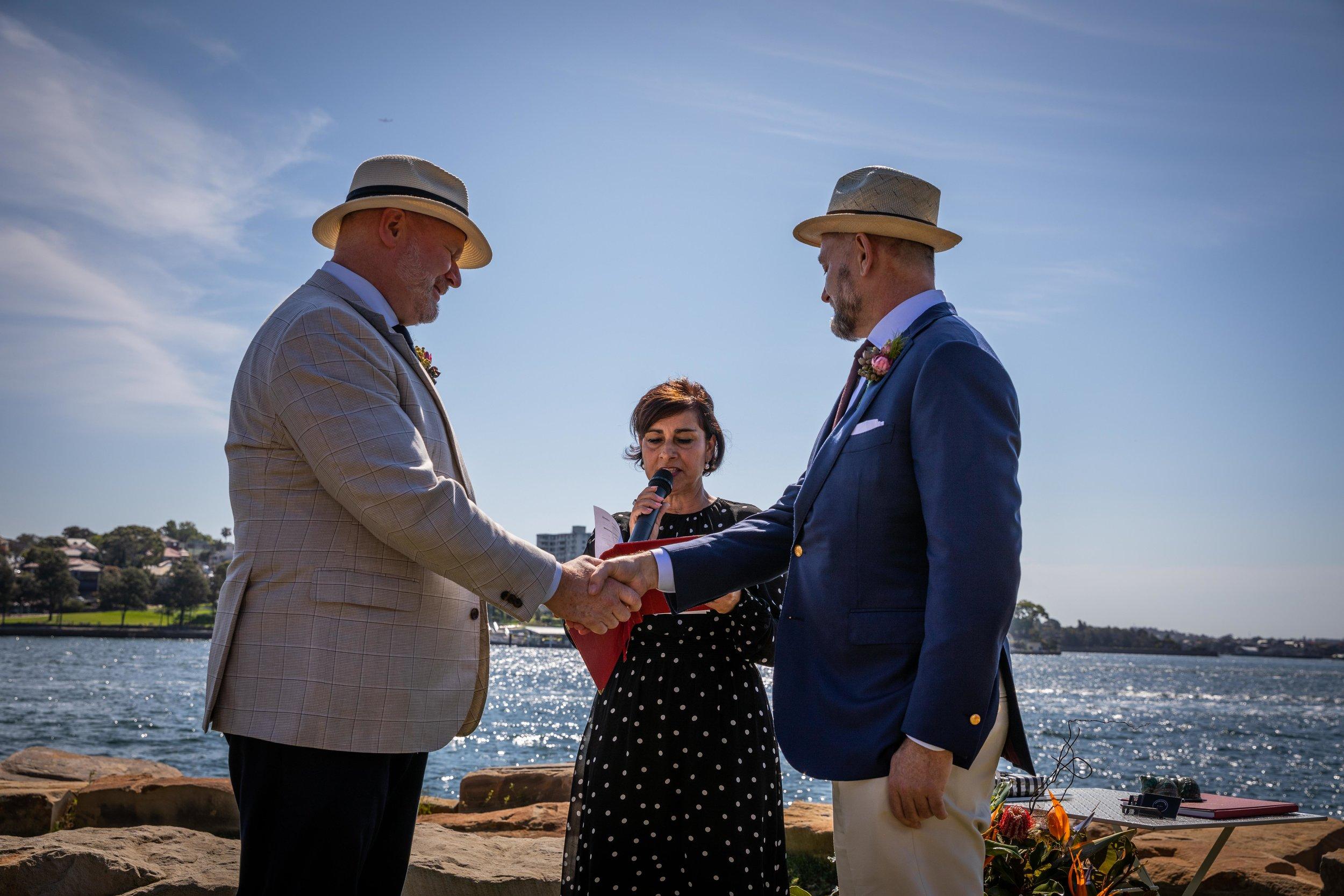 Gay wedding planner Sydney - Samantha Burke Events