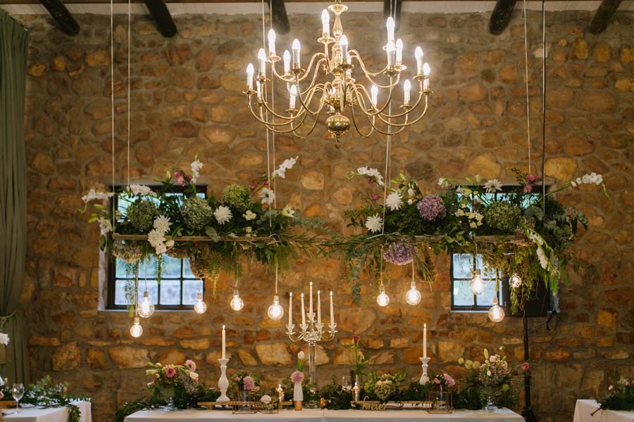 Rustic, Lux, Forest Wedding Via Want That Wedding UK