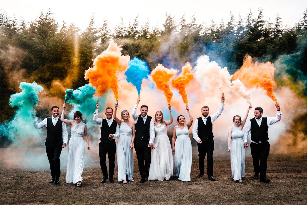 Image by Ross Hurley Photo via Rock My Wedding UK