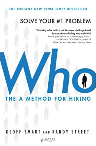 BUSINESS DISCOVERY:  This book covers practical knowledge on the hiring process for businesses large and small with as easy to follow process outlined.    GOODREADS RATING :   3.94 / 5   TO  HOLD  OR TO  HEAR ?   'Hold' is encouraged for note taking and viewing of the many charts and graphs.    BUY NOW