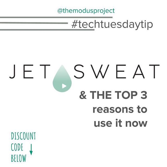 Too busy with work that you're missing workout classes? @jetsweatfitness  might be your solution. By partnering with top boutique fitness studios around the world, #JETSWEAT streams workouts to a remote or traveling audience. TRY NOW with a free complimentary month membership with code SWEATJUNKIE . . . #themodusproject #findyourmodus #smallbusiness #entrepreneur #businessowner#hardworkpaysoff #consultations #dailygrind #selfmade #moveforward #movementforward #findyourmovementforward #smallbusinesslove #smallbusinessrevolution #smallbusinesstips #smallbusinesssupport #businesshelp