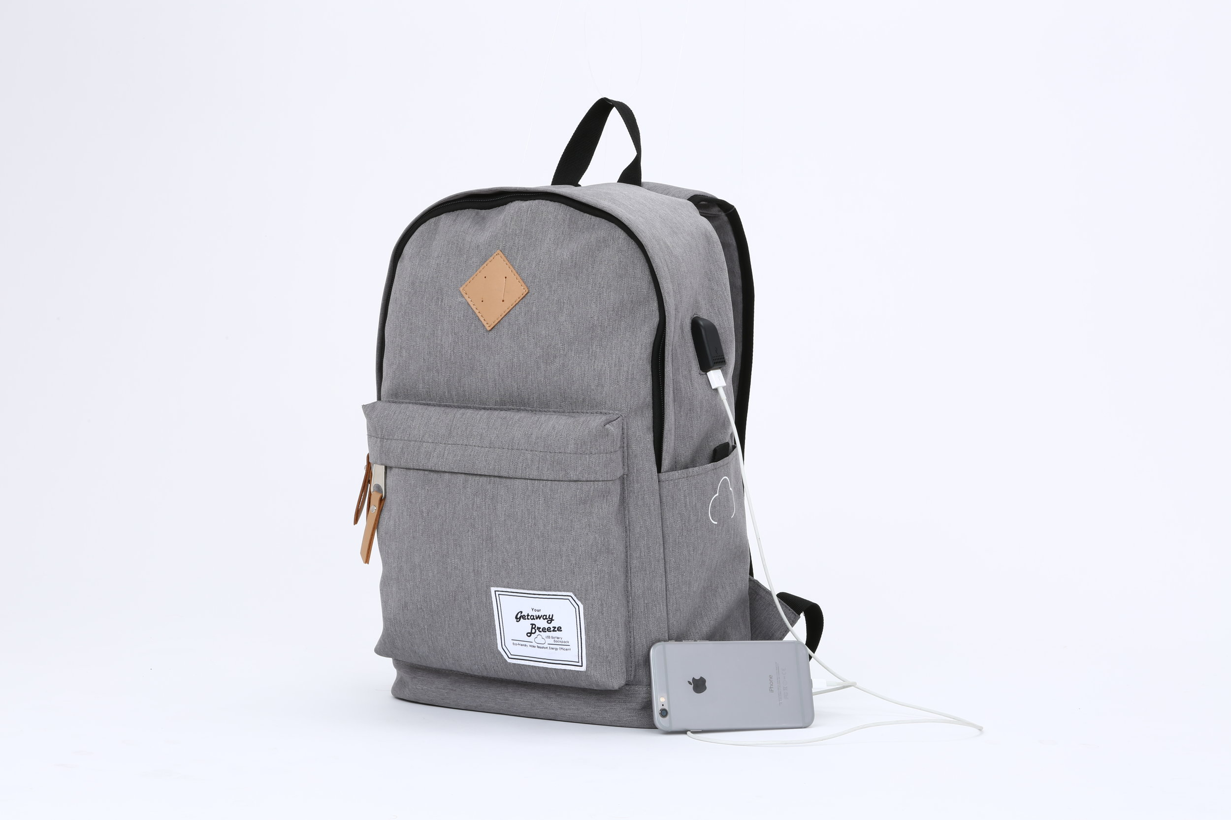 Charcoal Gray Breeze Battery Backpack (Battery Included) $39.95  Click Here