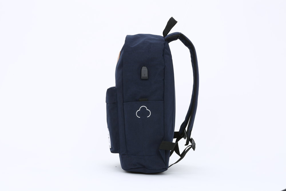 Navy Blue Side View