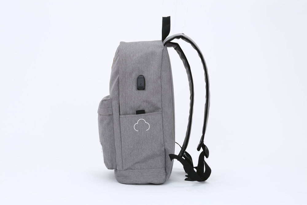 Charcoal Gray Side View