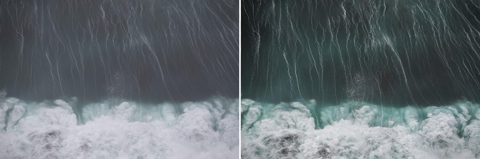 crashing waves in hawaii editing process