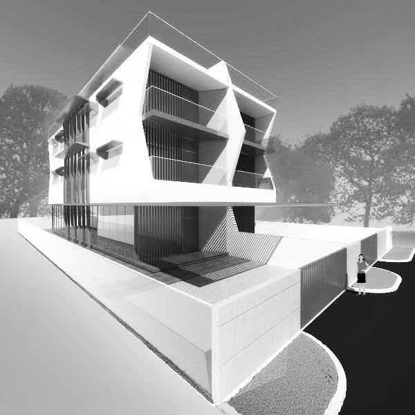 The Multiply House. 1 house, configurable into 2 distinctions, suitable for 4 families. #architecture #house #programmatic @atelier_lem