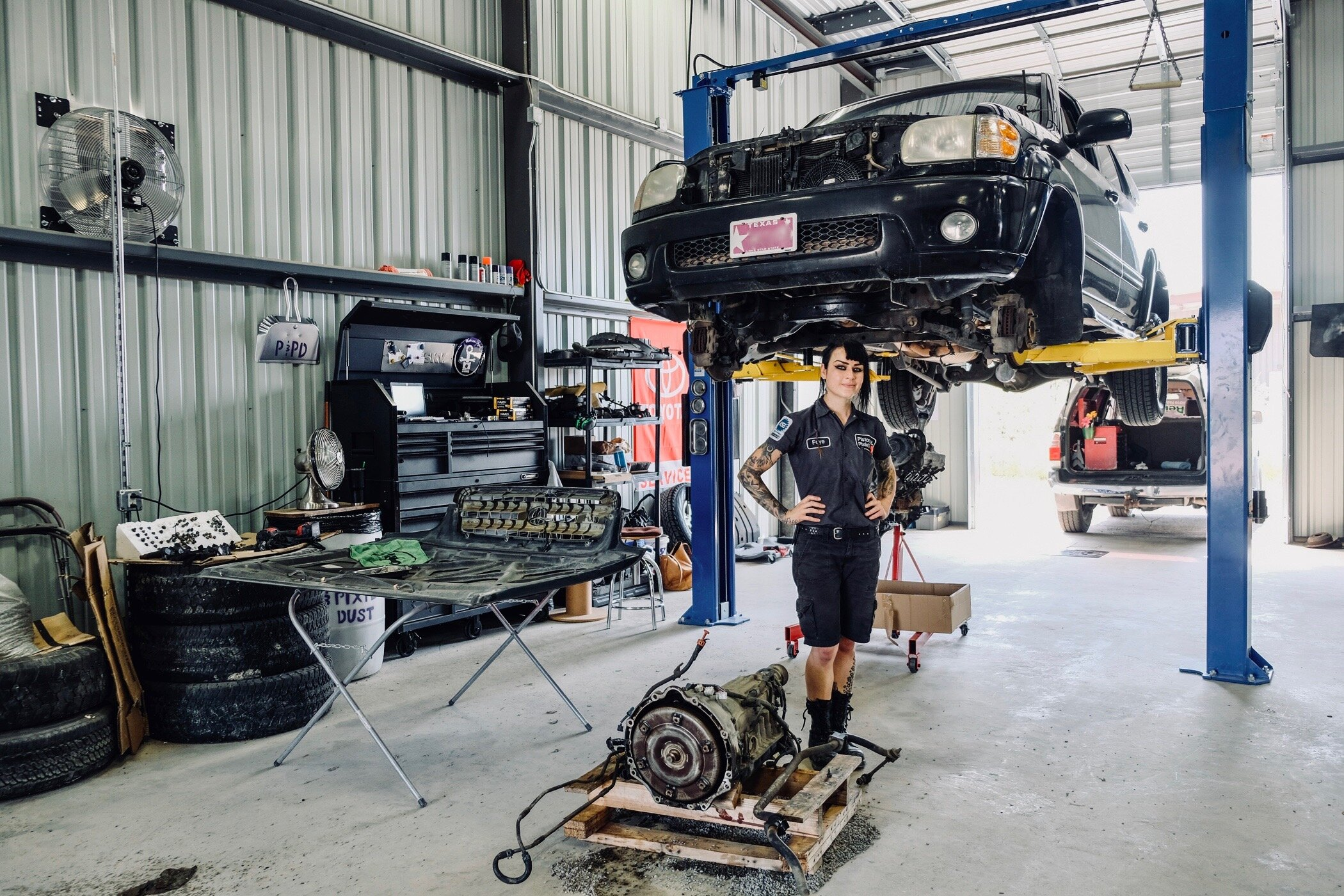 an Independent Automotive Repair shop in NE San Antonio - Owned & Operated by ASE Certified Technician and Toyota Specialist, Faye Hadley