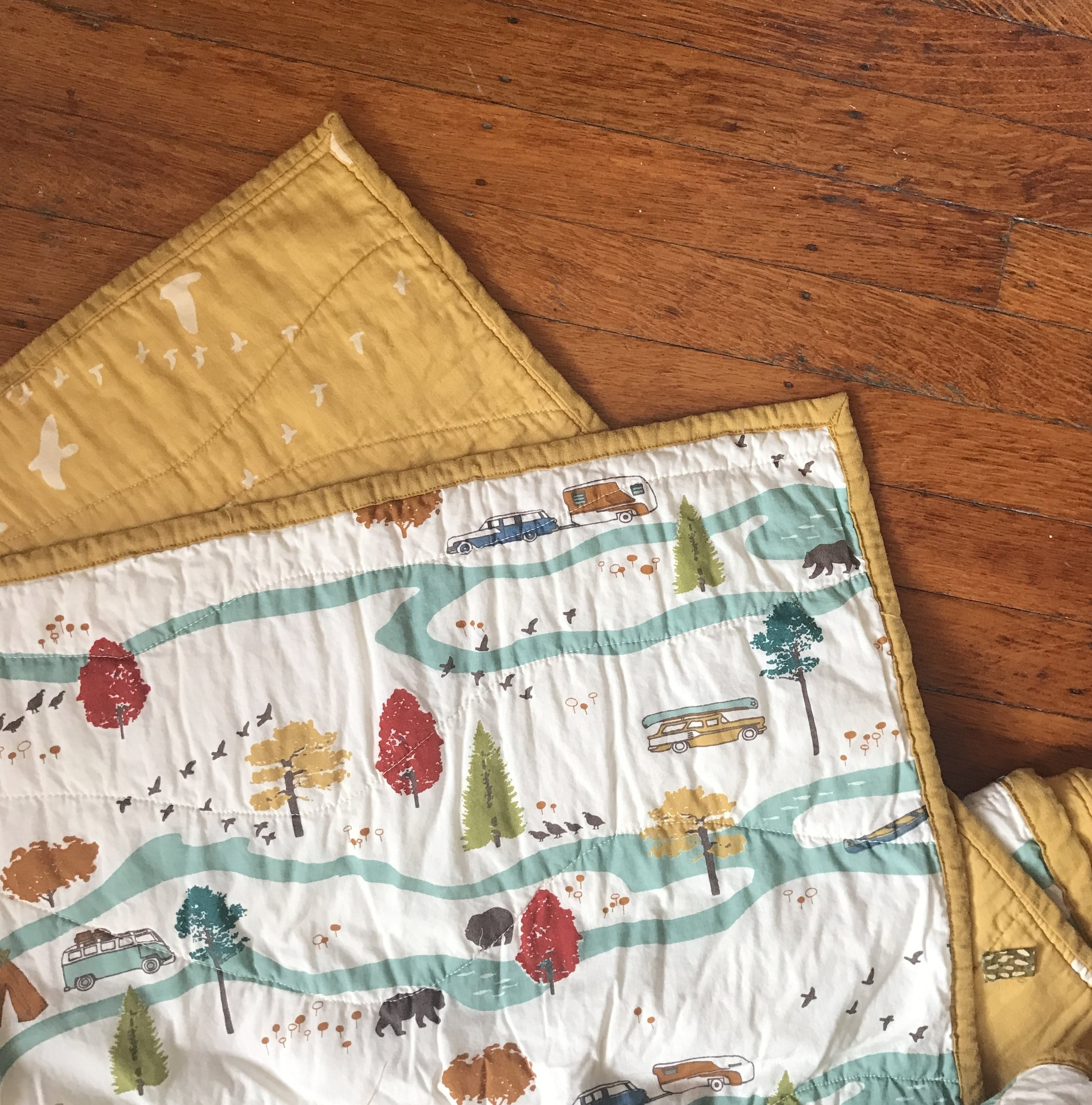 Little Bear Wholecloth Quilt