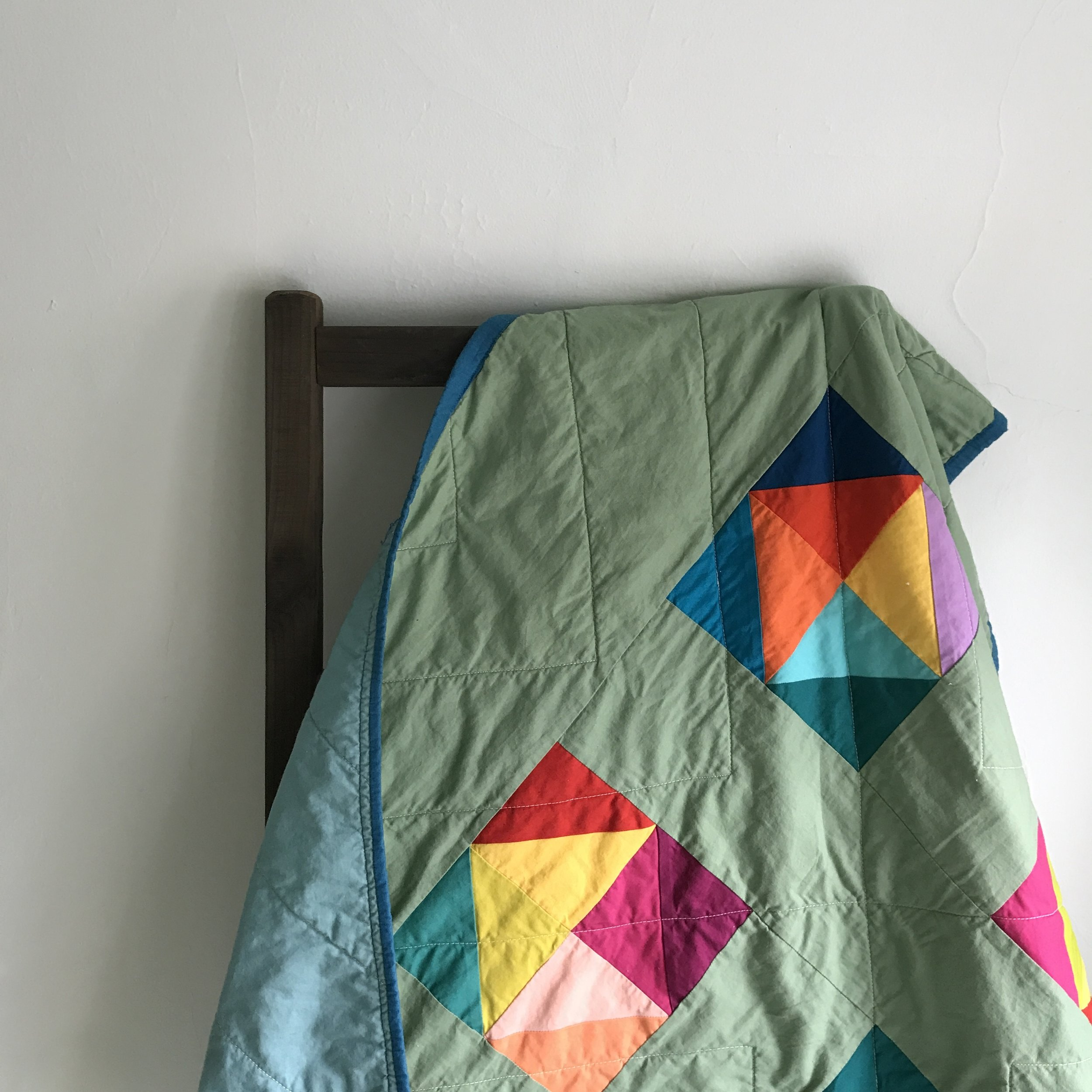 Blocks in Grass Quilt