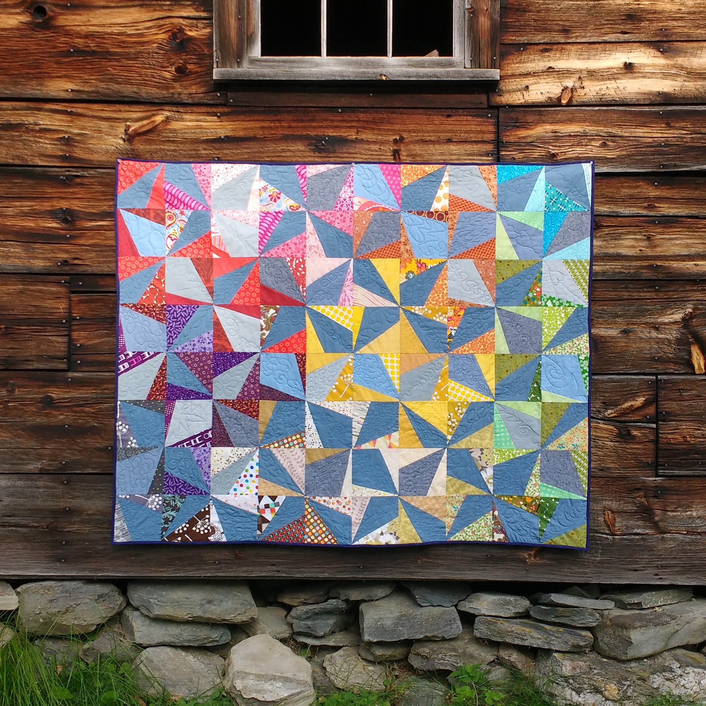 S & R Wedding Quilt (Collaboration with Shawna Desrosiers)