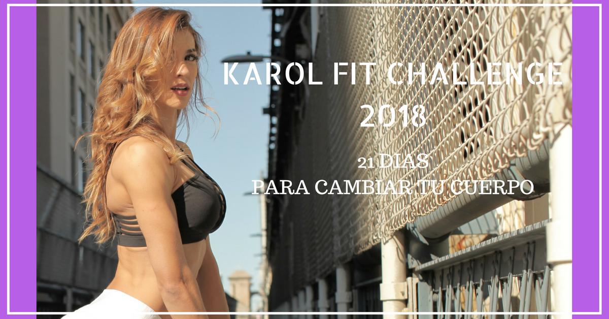 KAROL FIT CHALLENGE 2018