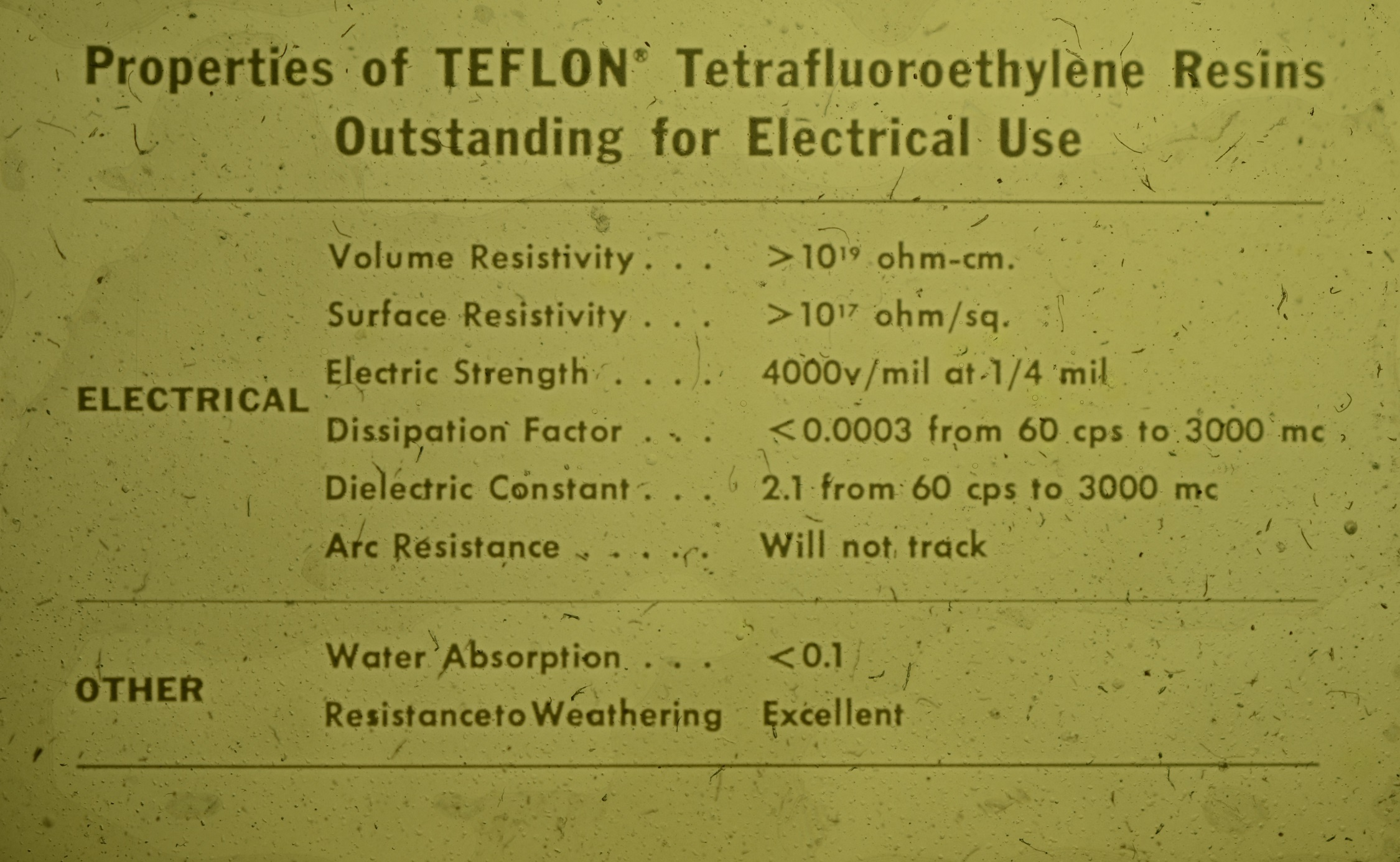 Teflon Properties for Electrical Use - Balfor Industries, Inc..jpg