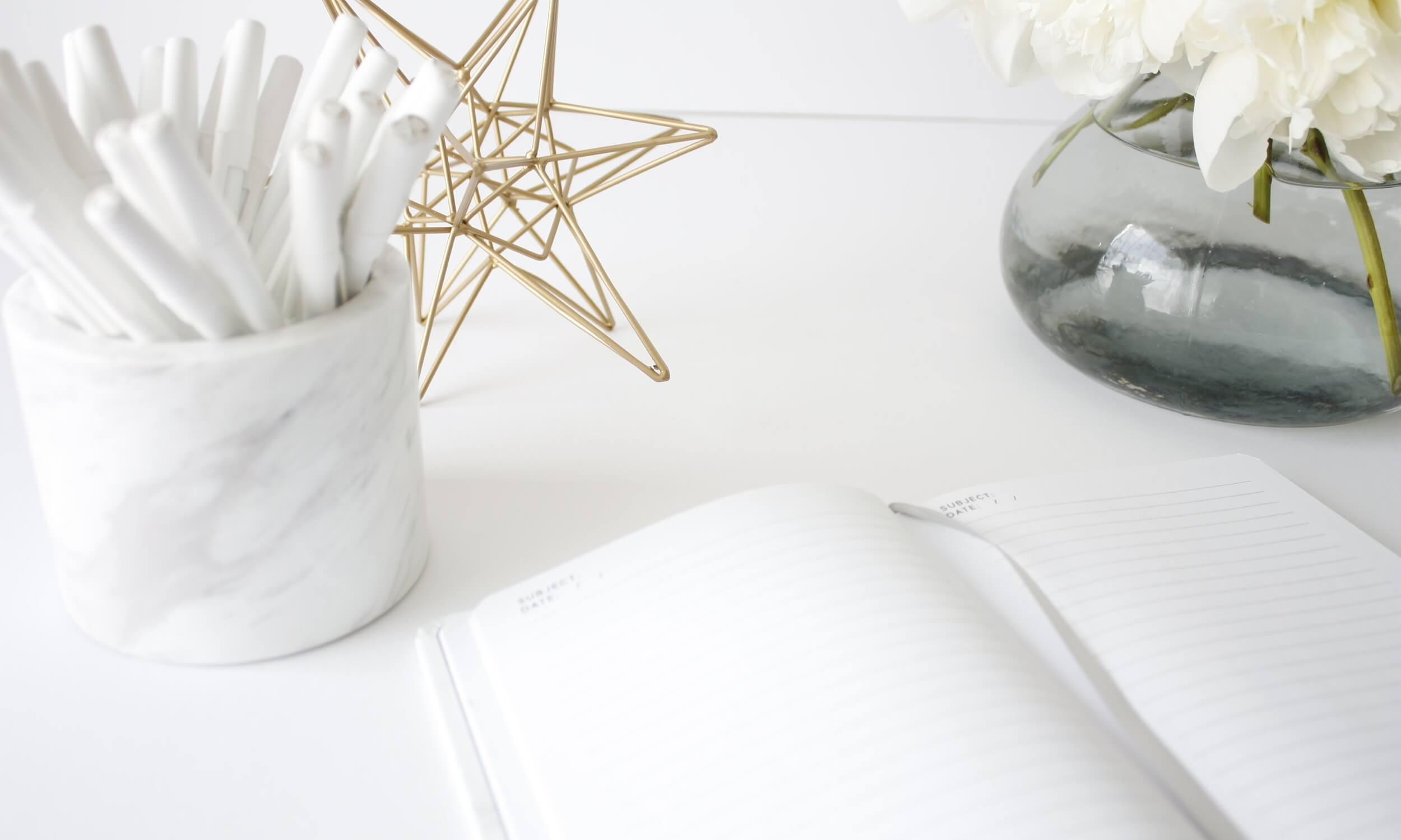 The Organizing Organization home organization and styled desk ideas
