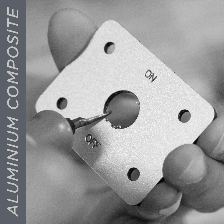ตัดอลูมิเนียมคอมโพสิท อลูมิเนียมคอมโพสิท