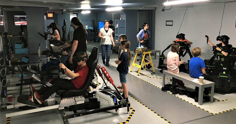 VR Arcade Kids Event School Trip
