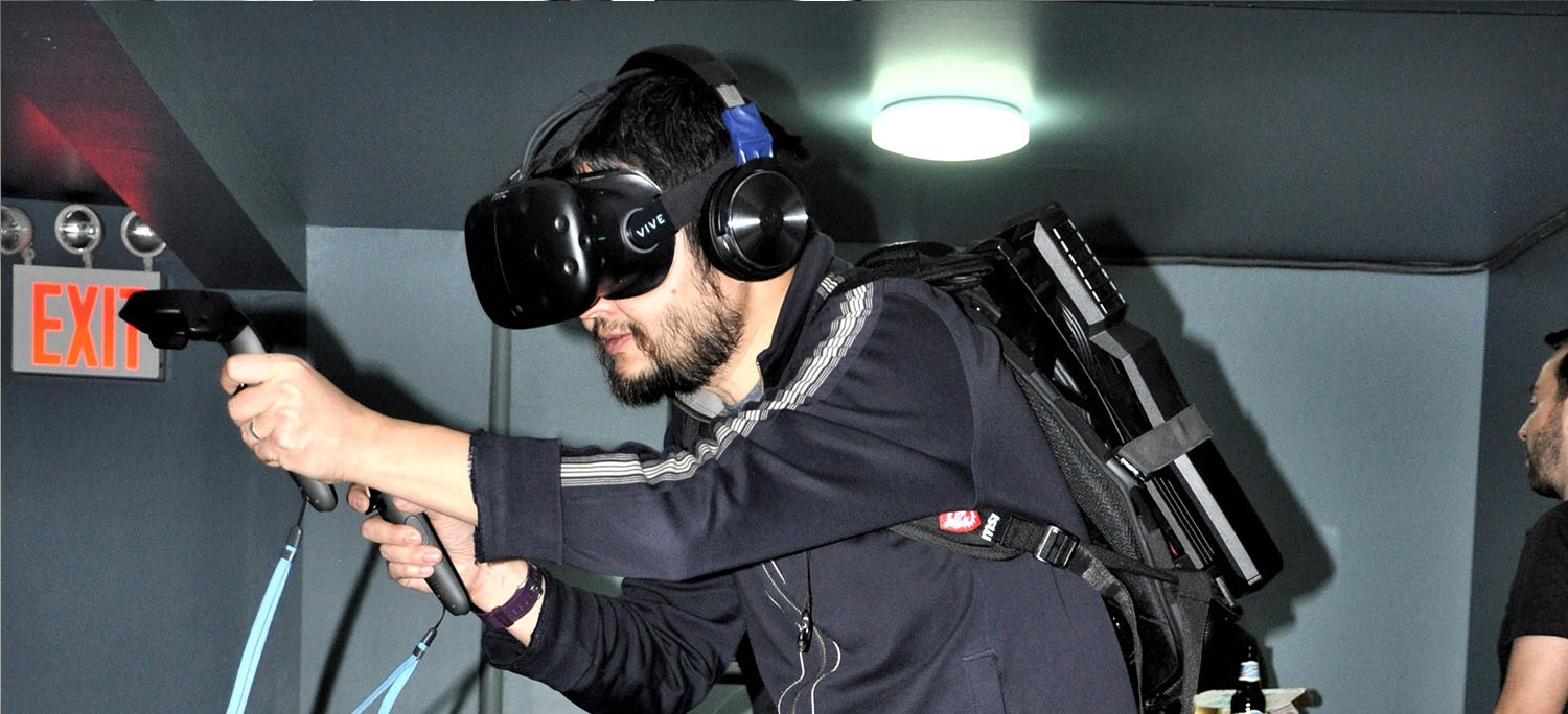 Wireless VR with Backpack Private Corporate Event
