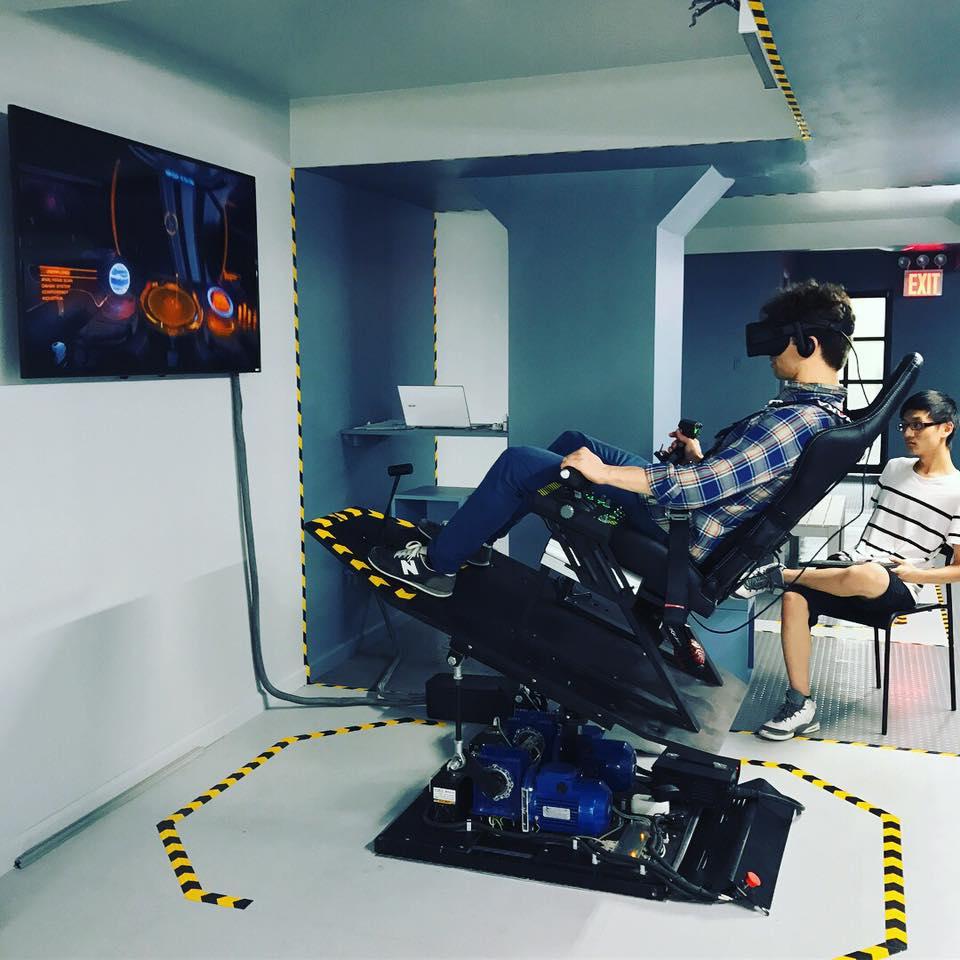 Virtual Reality Flight Simulator Center NYC