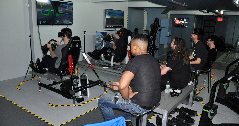 Virtual Reality Racing Center New York