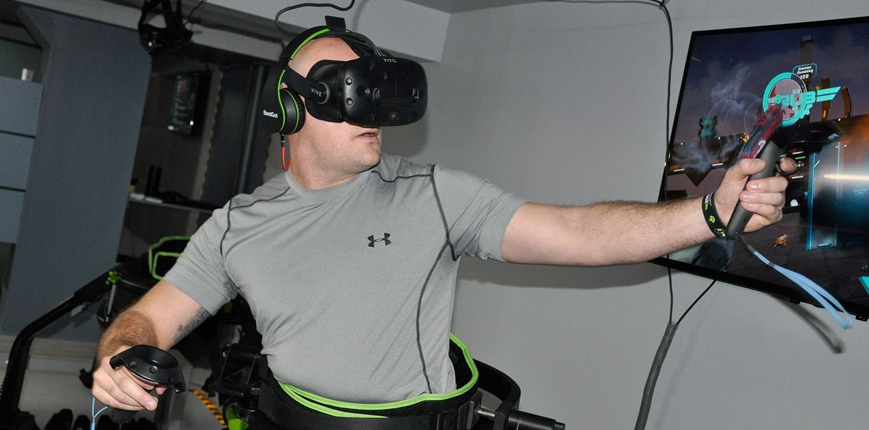 Virtual Reality Treadmill Lab NYC
