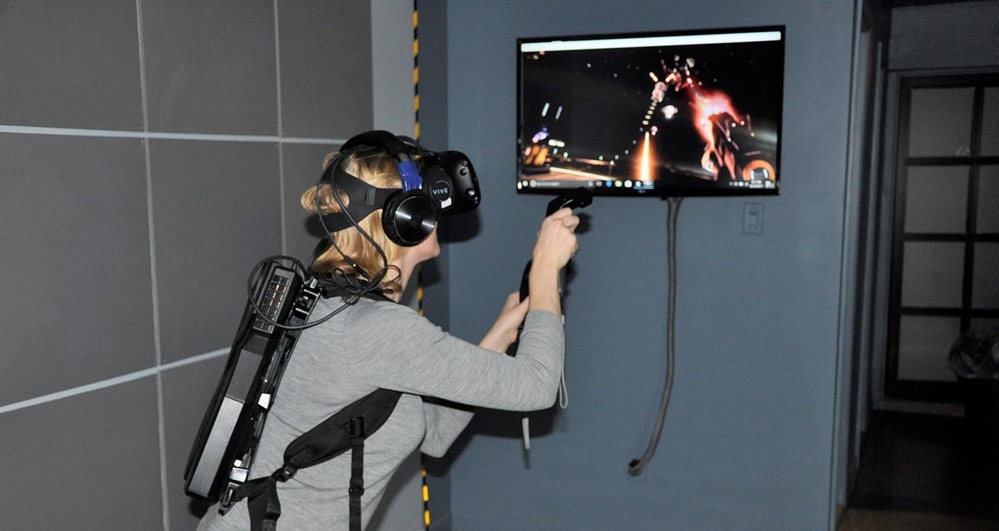Wireless Virtual Reality Lab NYC