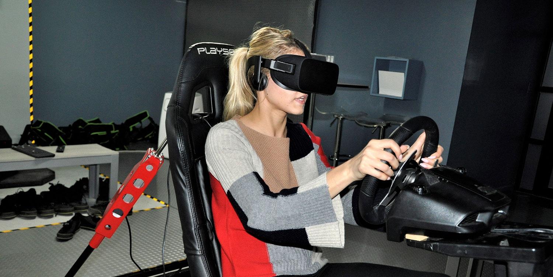 VR Racing Arcade NYC