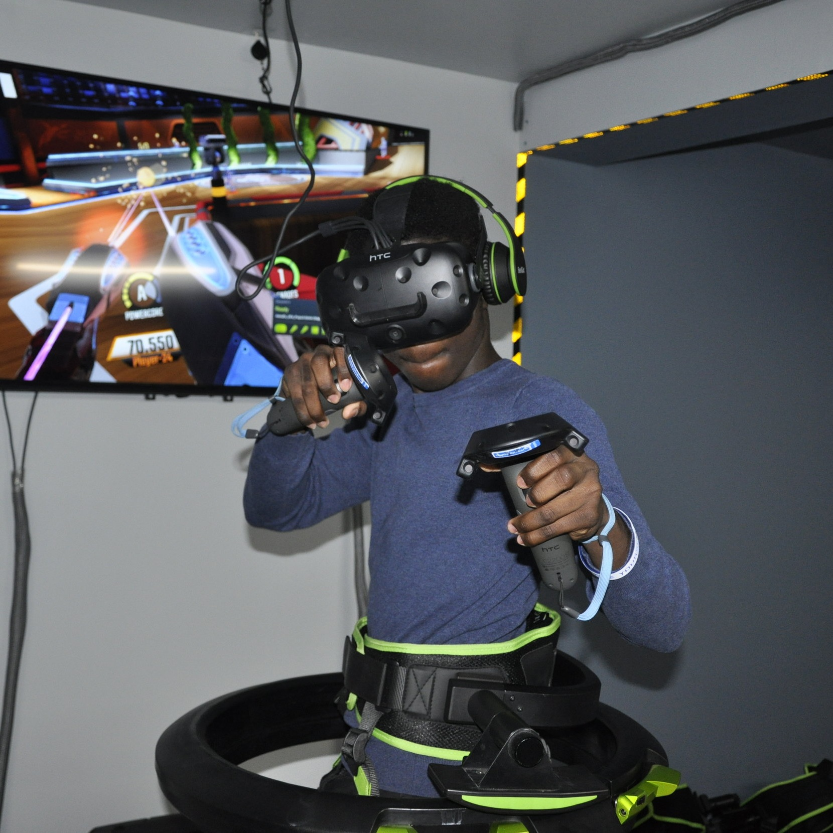 VR Lab Kids Event Flight Simulator