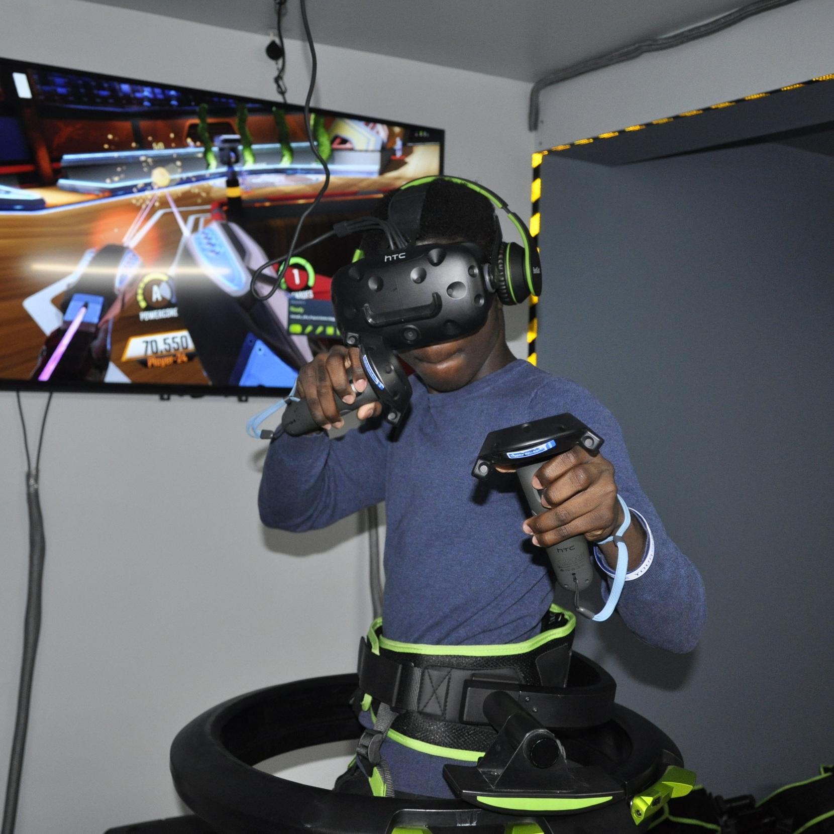 VR Lab Kids Event Flight Simulator