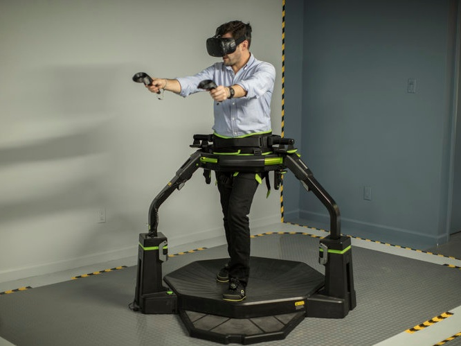 VR TREADMILLS   Try the very best in simulated locomotion experiences.   Learn More!      VR TREADMILL GAMES   Omni Arena, Vindicta, Nature Tracks and more.   See All VR Treadmill Games!