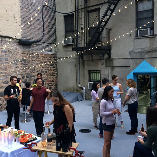 VR Lab Private Event Outdoors Space