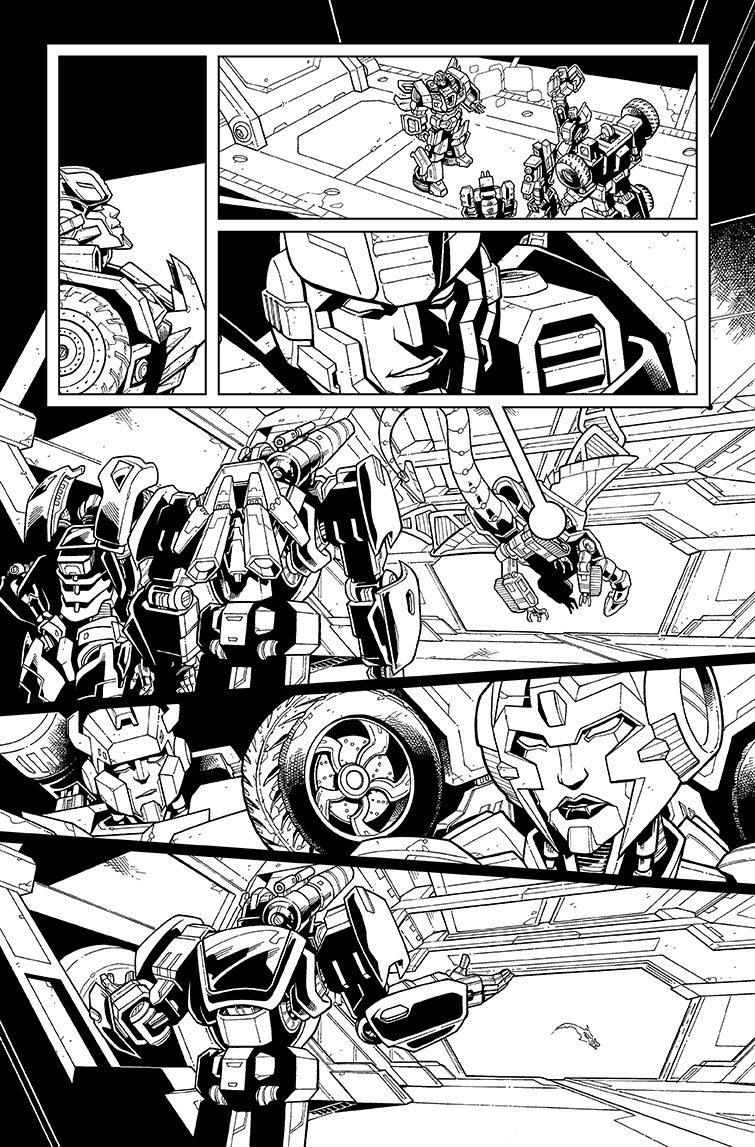 Transformers #36, Page 11<br />$200