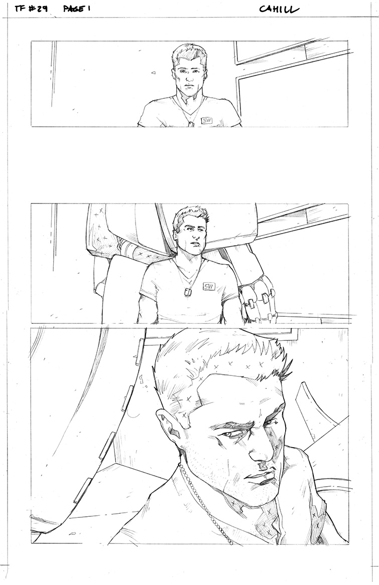 Transformers #29, Page 1<br />$50