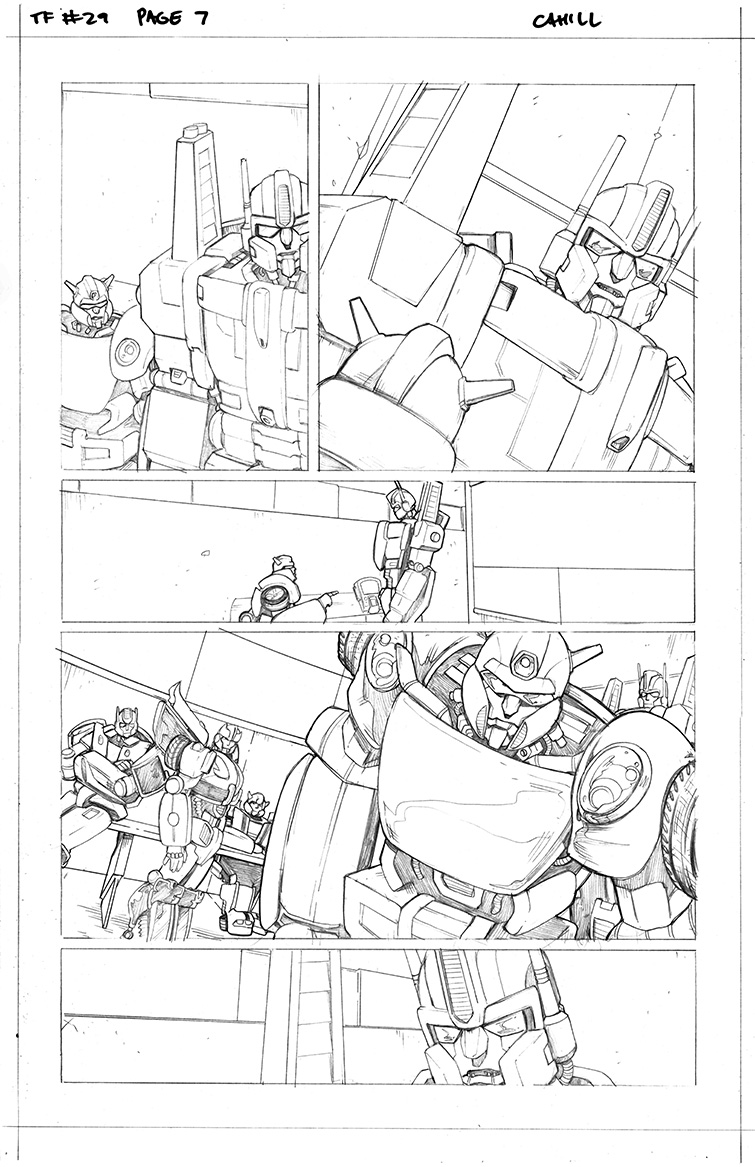 Transformers #29, Page 7<br />$75