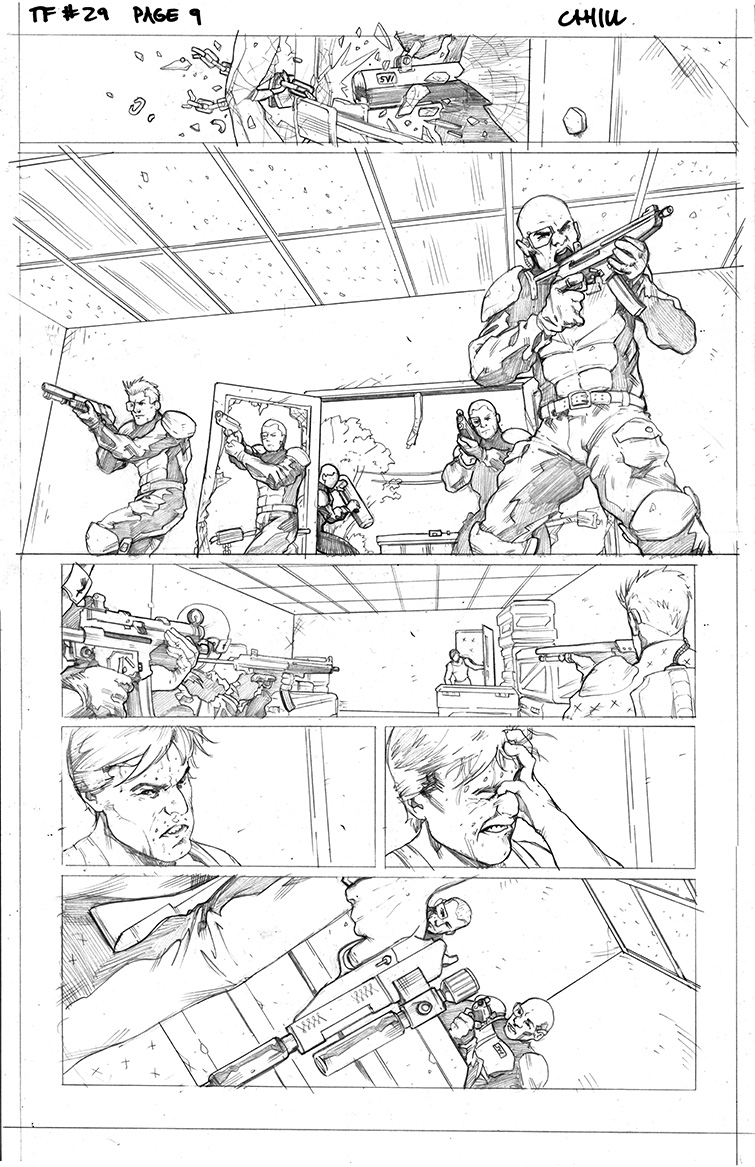 Transformers #29, Page 9<br />$50