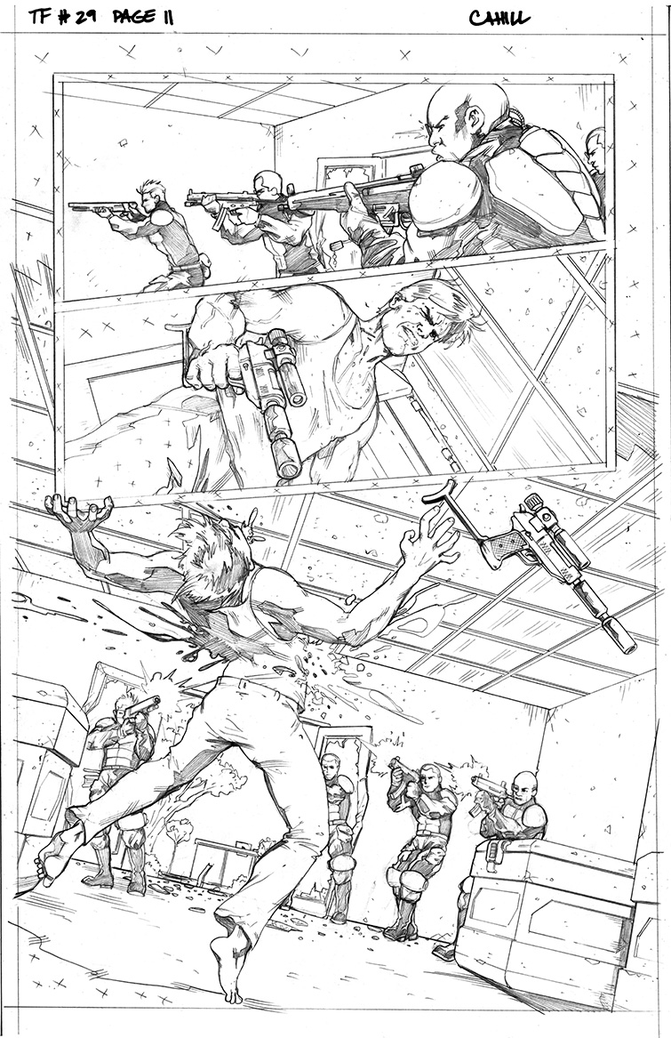 Transformers #29, Page 11<br />$50