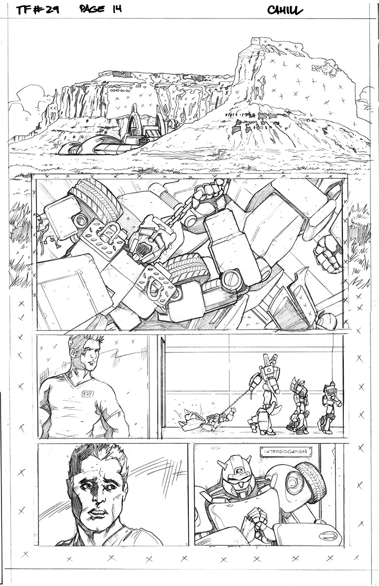 Transformers #29, Page 14<br />$50