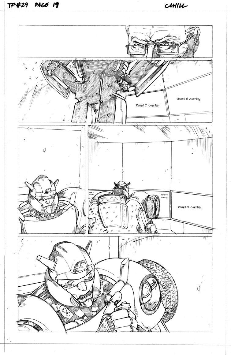 Transformers #29, Page 19<br />$50