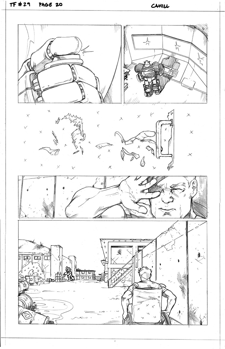 Transformers #29, Page 20<br />$50