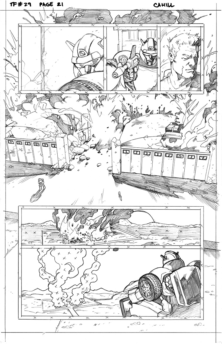 Transformers #29, Page 21<br />$50