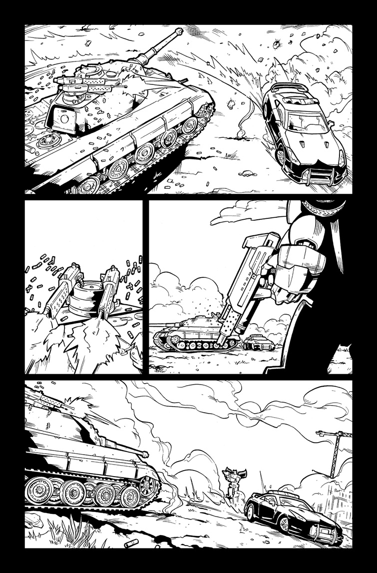 Transformers #27, Page 6<br />$75