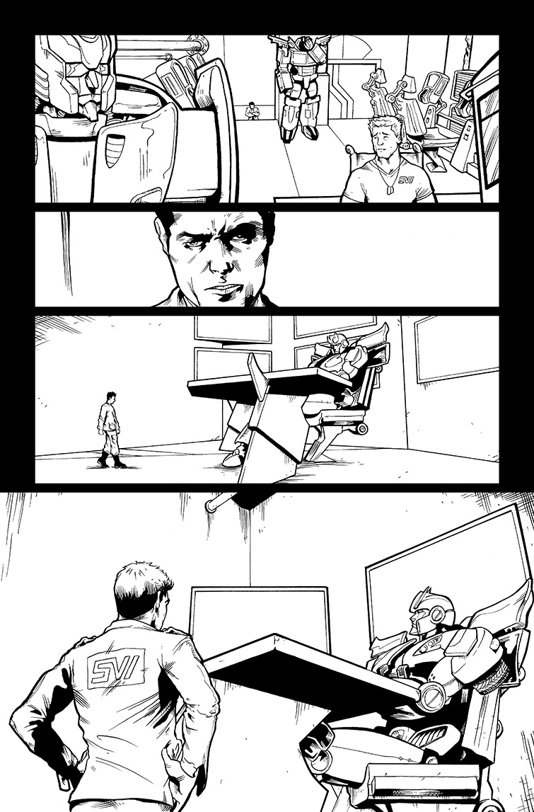 Transformers #25, Page 4<br />$50