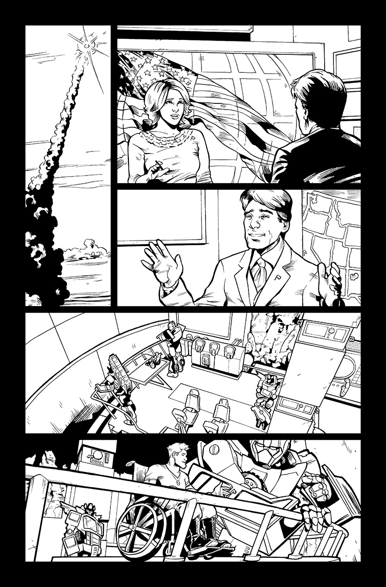 Transformers #25, Page 3<br />$50