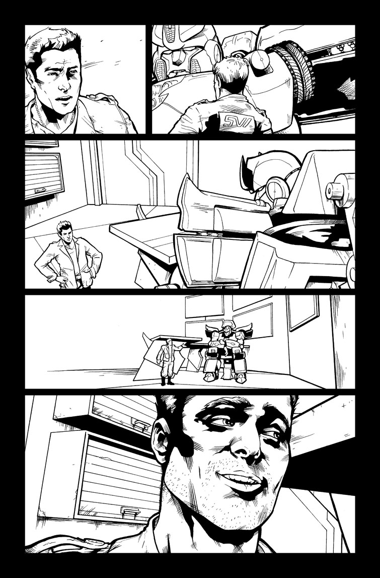 Transformers #25, Page 5<br />$50